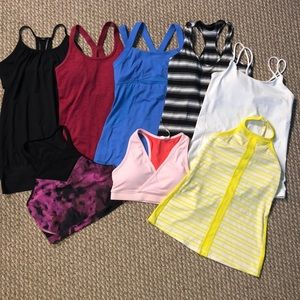 Lululemon (8 tops) All size 6, 18$/Each, Mint Cond